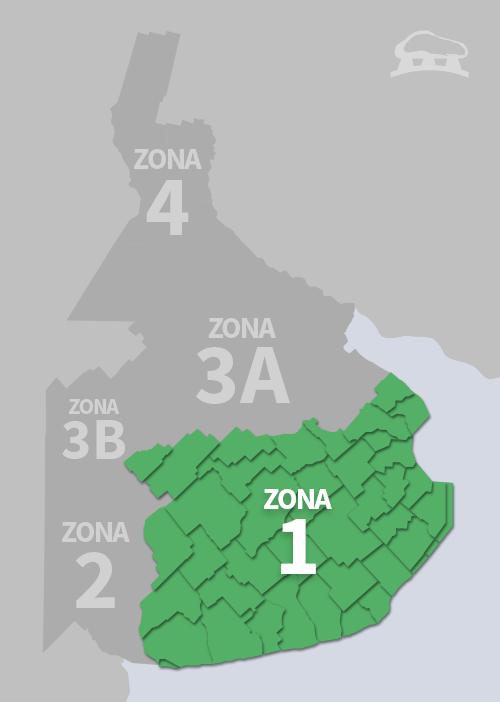 Cobertura Zona 1