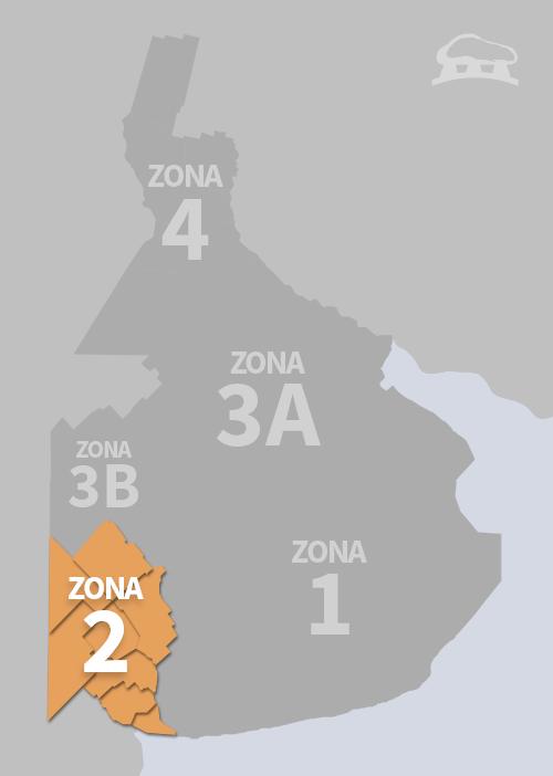 Cobertura Zona 2