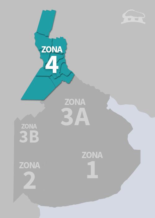 Cobertura Zona 4